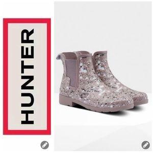 NWT Hunter Chelsea Short Rain Boots